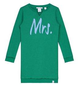 Nik & Nik Nik & Nik jurk groen 5-880 1805