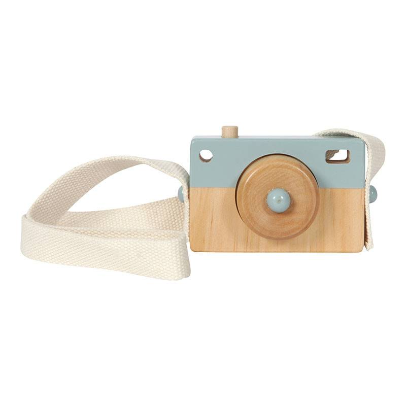 Little Dutch Little Dutch houten Camera blue