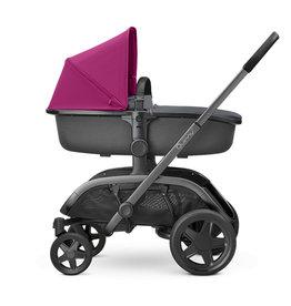 quinny Quinny Hubb Hux Reiswieg+Wandelwagen Pink on Graphite