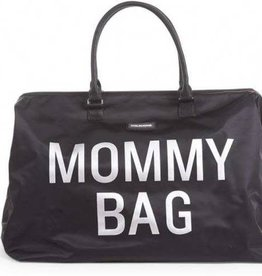 Childhome childhome mommy bag tas zwart zilver