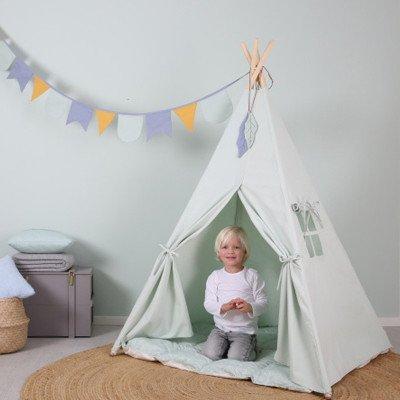 Little Dutch Little Dutch houten Wigwam tent  groen