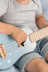 Little Dutch Little Dutch houten gitaar blauw