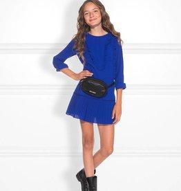 Nik & Nik Nik&Nik Blix jurk blauw