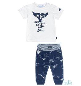Feetje Feetje 517.00410 shirtje+broekje  Z19B