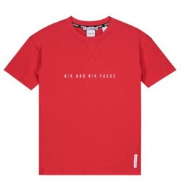 Nik & Nik NIK&NIK B 8-813 1902 Focus  shirt rood Z19B