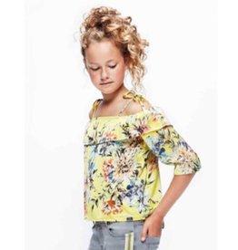 Retour Retour Ashley Shirt Bright yellow  Z19 M