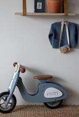 Little Dutch Little Dutch houten Loopscooter blauw
