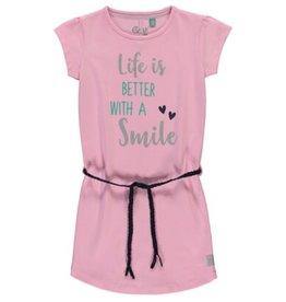 Quapi Quapi Saar  jurk fresh pink  Z19M