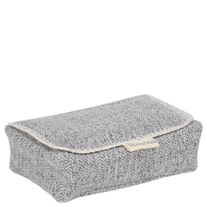 Koeka Koeka Vigo wipes cover sparkle grey 640
