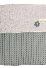Koeka Koeka Oslo deken wafel teddy kleur sapphire 730