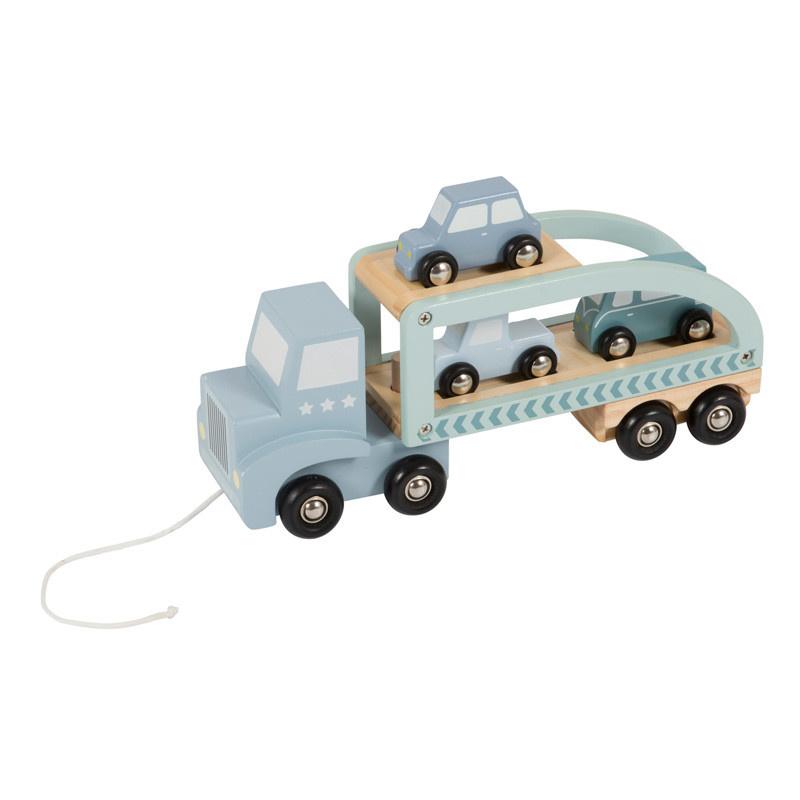 Little Dutch Little Dutch houten transportauto