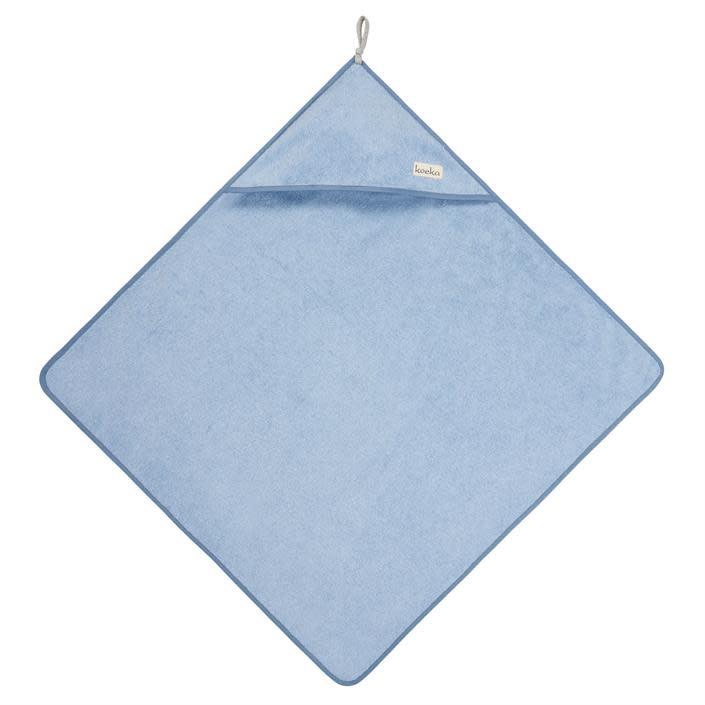 Koeka Koeka Dijon badcape soft blue