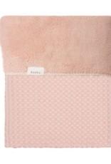 Koeka Koeka Oslo deken wafel teddy kleur shadow pink 415