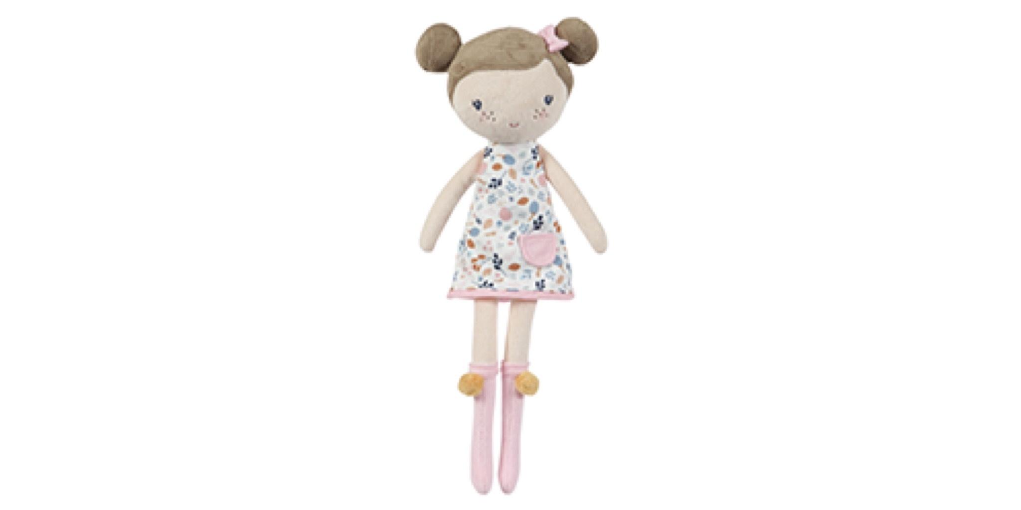 Little Dutch Little Dutch knuffelpop Rosa 50cm