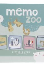 Little Dutch Little Dutch houten memo dierentuin