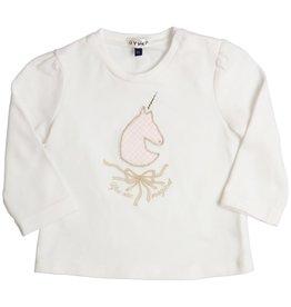 Gymp Gymp 352-9665-10  off white shirtje  GW9