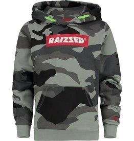 Raizzed Raizzed New York trui camouflage groen W9B