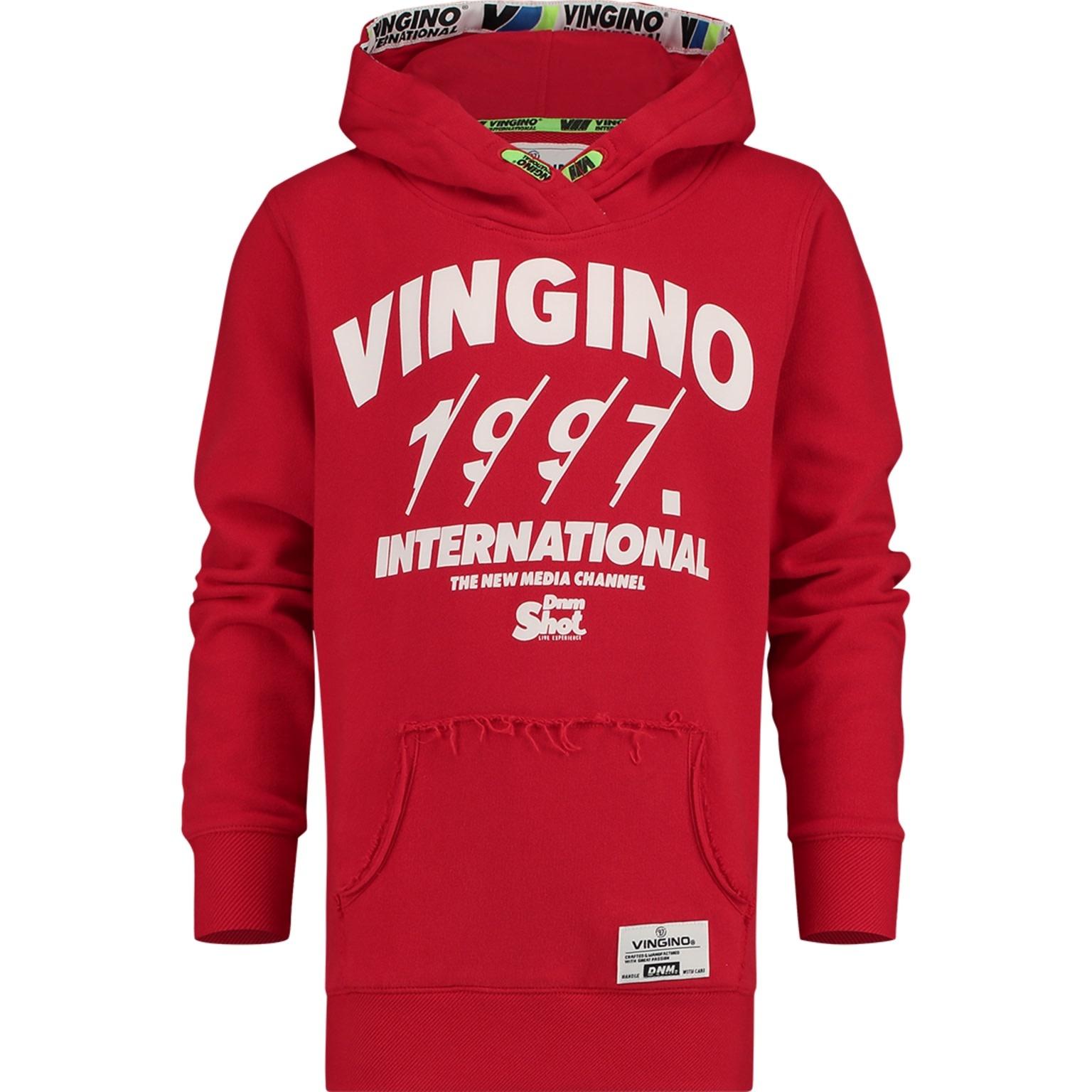 Vingino Vingino Nickay  Trui Classic red W9 B