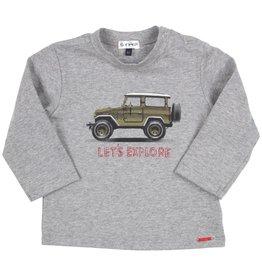 Gymp Gymp 352-9626-20- shirtje grey  BW9