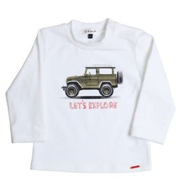 Gymp Gymp 352-9626-20- shirtje wit  BW9