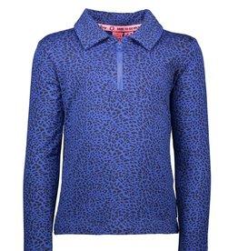 B.Nosy B.Nosy Y908-5422 shirt blauw/panter 181 M19W