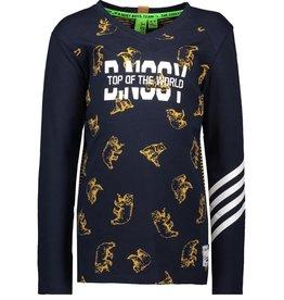 B.Nosy B.NOSY Shirt Y908-6432-378 Blauw W19 B