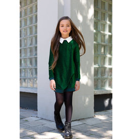 Levv Levv Daizy jurk groen  W9G