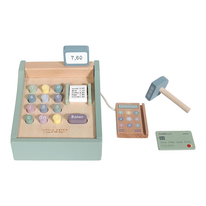 Little Dutch Little Dutch houten kassa met scanner