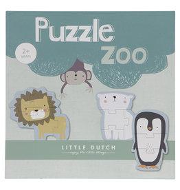 Little Dutch Little Dutch houten dierenpuzzel first baby's 1e puzzel