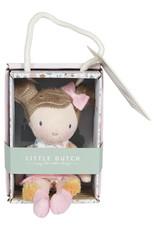Little Dutch Little Dutch knuffelpop Rosa 10 cm