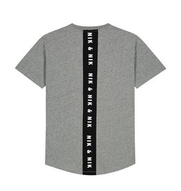 Nik & Nik Nik&Nik Pelle shirt Mid grey melange  W9J