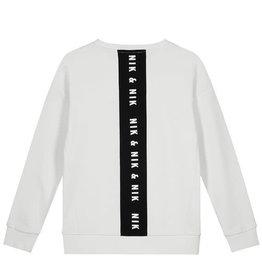 Nik & Nik Nik&Nik Aldo sweater white 2000 J19W