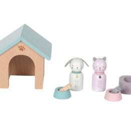 Little Dutch Little Dutch poppenhuis speelset-huisdieren