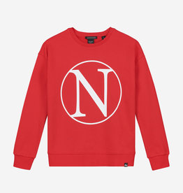 Nik & Nik Nik &Nik G8-484-2002 Kim N sweater Poppy red S20G