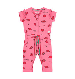 Quapi Quapi Bibi Pink Juipsuit Lips Dress S20G