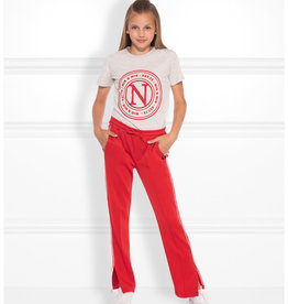 Nik & Nik NIK&NIK G2-674-2002 Lora Track Pants Poppy Red S20G