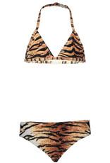 Just Beach Just Beach J003-5022-023 tiger triangle bikini S20G