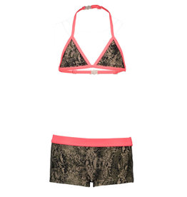 Just Beach Just Beach J003-5028-029 snake triangle bikini S20G
