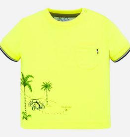 Mayoral Mayoral 1050 shirt neon geel S20B