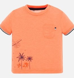 Mayoral Mayoral 1050 shirt neon oranje S20B