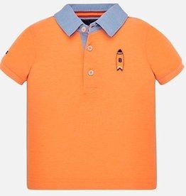 Mayoral Mayoral 1152 shirt neon oranje S20B