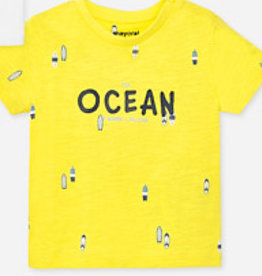 Mayoral Mayoral 1051 shirt geel S20B.