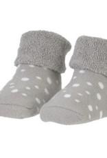 BamBam BAMBAM Organic Socks Grey with dots