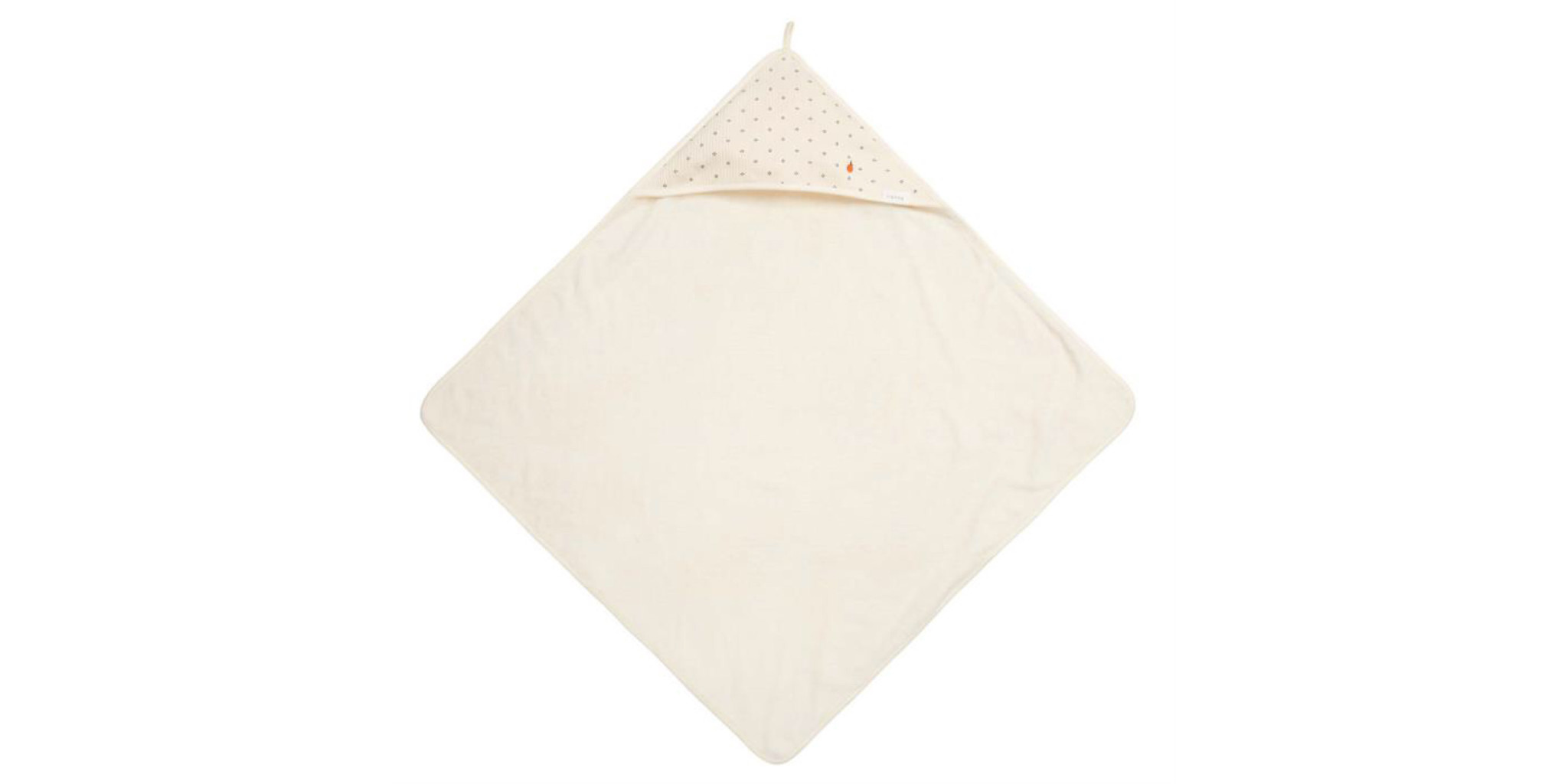 Koeka koeka wrap towel Petit Pomme powder white 102