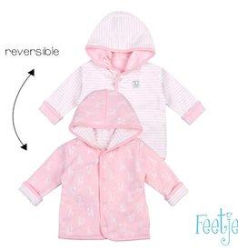 Feetje Feetje 518.00245 omkeerbare jas roze W20G NOS