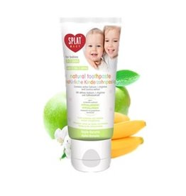 Splat Splat naturel tandpasta for babies 0-3 years appel/banaan