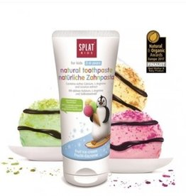 Splat Splat naturel tandpasta for kids 2-6 years Fruit Ice-cream
