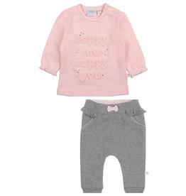 Feetje Feetje 516.01498  shirtje+broekje  2-delig roze W20G