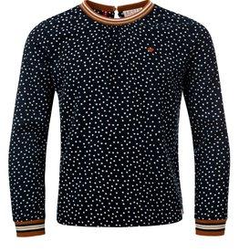 Looxs Looxs 2031-7119-190 shirt navy W20G