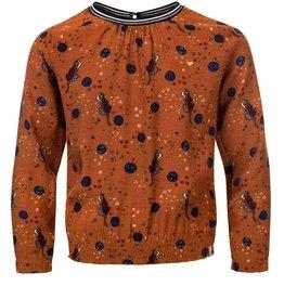 Looxs Looxs 2031-7123-440 shirt caramel W20G